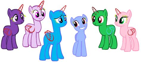 mlp pony base group mlp base group of 5 bing images