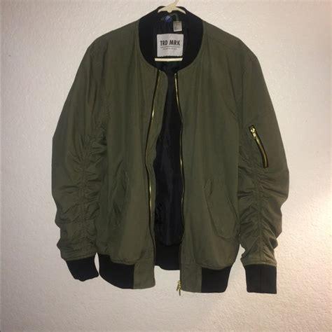 Jaket Bomber H M 17 h m jackets blazers olive green h m bomber