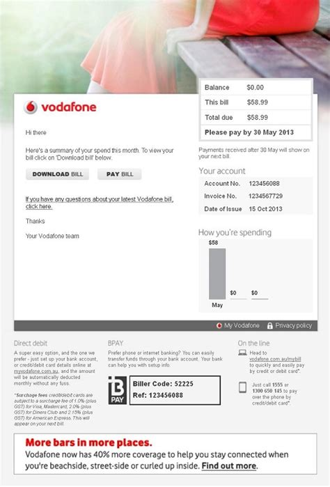 Vodafone Credit Sms Format Your Vodafone Bill Explained Vodafone Australia