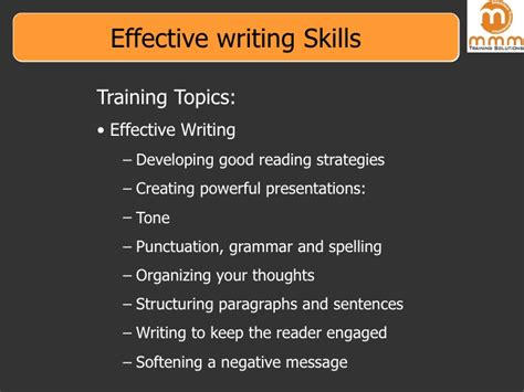 what to write in communication skills in a resume effective writing skills