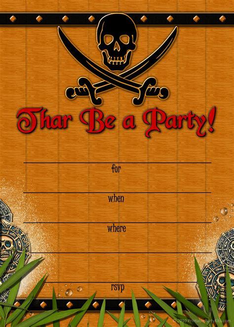 Free Printable Party Invitations Skull And Crossbones Pirate Invitation Template Free Pirate Invitation Template