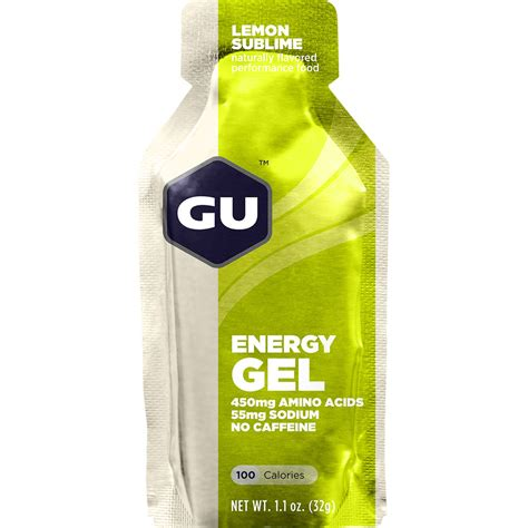 Energys Energy Gel by Gu Energy Labs Gu Energy Gel 24 Pack Lemon Sublime Gu