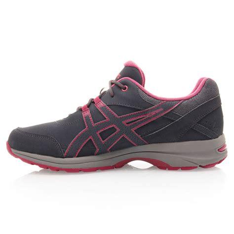 asics gel avenue womens walking shoes charcoal plum
