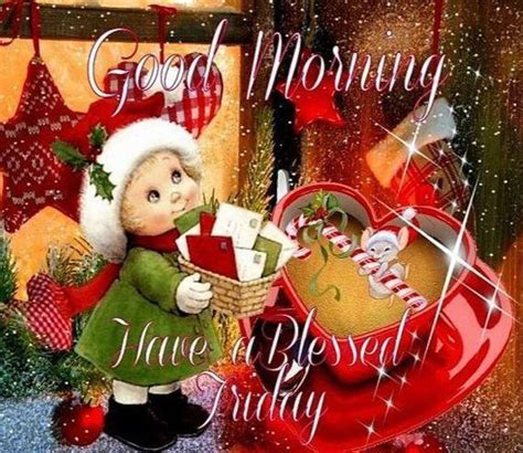 christmas kid good morning blessed friday quote pictures   images  facebook