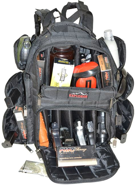 tactical performance range backpack r4 explorer heavy duty tactical range backpack to carry 10