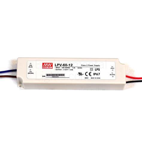Power Supply Well Led Driver Lpv 60 24 lpv 60 12 60w 12v 5a switching power supply kiesub