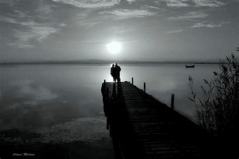 imagenes a negro puesta de sol en blanco y negro imagen foto especial
