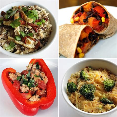 dinner dishes healthy dinner recipes popsugar fitness