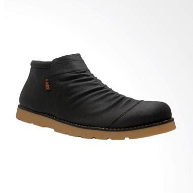 Sandal Sepatu Wanita Murah Slip On Shoes Black 001 jual d island shoes boots slip on zipper wrinkle sepatu pria black harga kualitas