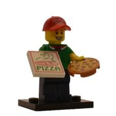 Lego 71007 Minifigures Series 12 11 Pizza Delivery lego minifigures serie 12 71007