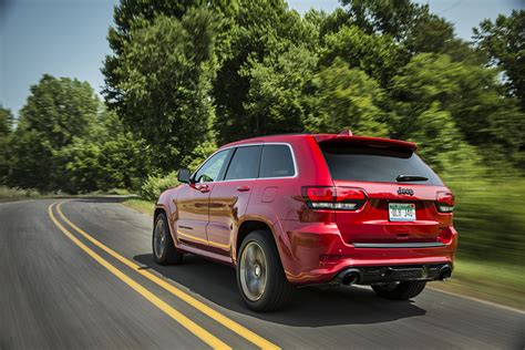 jeep srt 2015 red 2015 jeep grand cherokee srt adds 5hp red vapor special