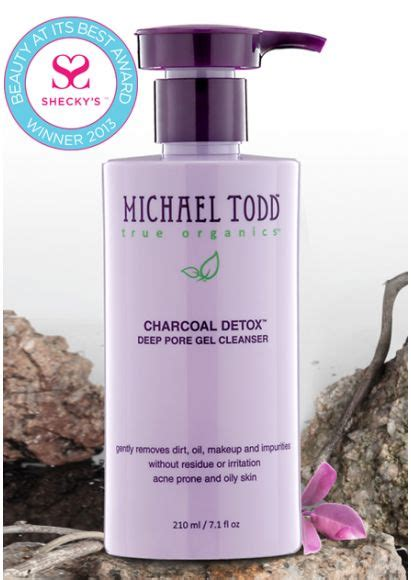 Rosacea Detox by Detox And Clean Your With This Charcoal Gel