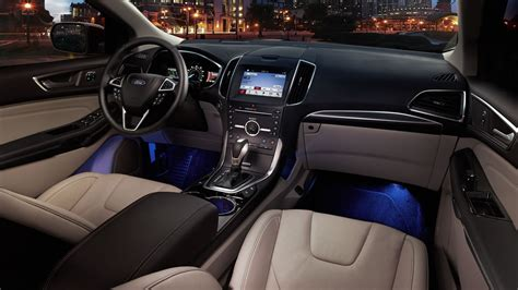 Interior Ford Edge by Pics For Gt Ford Edge Sport Interior