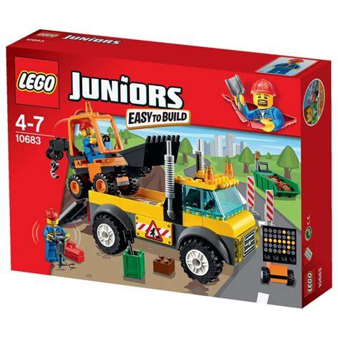 Lego 10683 Juniorsroad Work Truck lego juniors road work truck 10683 toys thehut