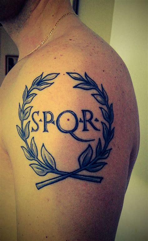 spqr tattoo meaning soldier spqr www pixshark images
