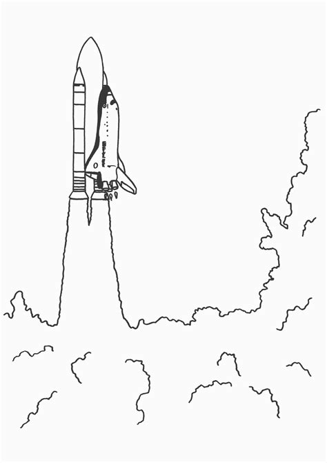 Space Shuttle Coloring Part 2 Space Shuttle Coloring Pages
