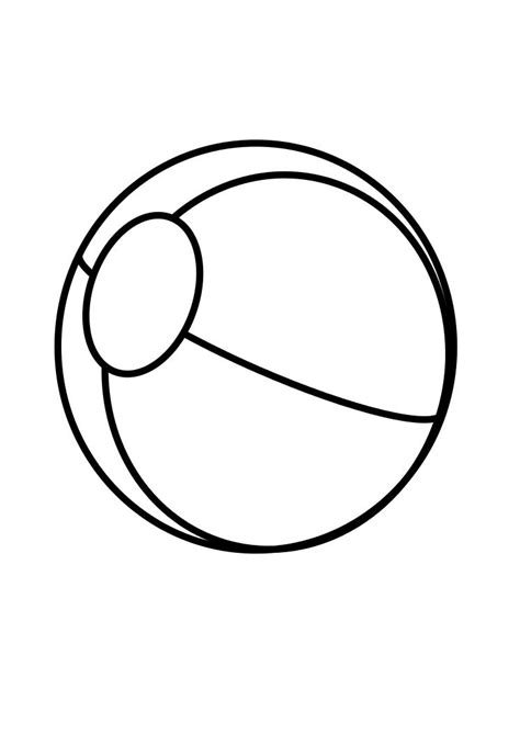 Ball Coloring Page Child Coloring Balls Coloring Pages