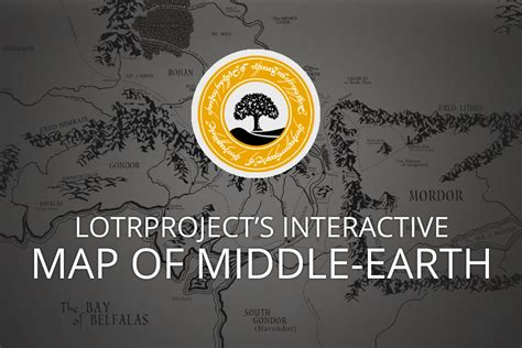 the hobbit interactive map interactive map of middle earth lotrproject