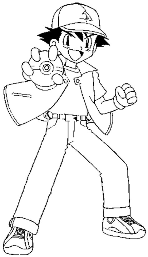 pokemon series xy ash coloring pages coloring pages