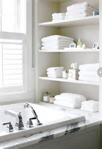 Shelves In The Bathroom 15 Exquisite Bathrooms That Make Use Of Open Storage