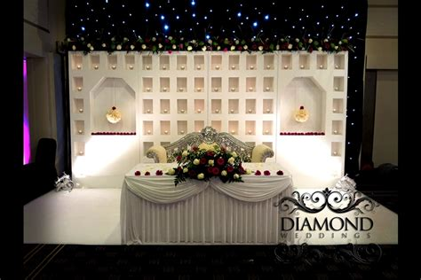 Moroccan Style Home Decor candle wall backdrop diamond weddings