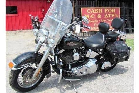 Harley Davidson Motorcycle Salvage by 2006 Harley Heritage Softail Flstc Salvage Parts
