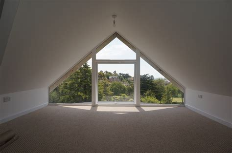 Awkwardly Shaped Bathrooms Designs by Exmouth Glass Gable Twin Pitched Roof Dormer Loft Small