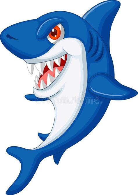 baby shark x2 cute shark cartoon stock vector illustration of smile