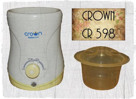 Crown Baby Care Bottle Warmer Crown Cr 598 Multifunction Home Car Warmer