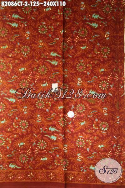 Kain Batik 110 X 210 Cm kain batik motif terkini lebih keren dan fashionable batik untuk blus cewek dan kemeja pria