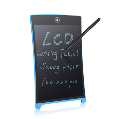 New Lcd Writing Tablet Board 8 5 Inch Papan Tulis Lcd Digital parblo 8 5 quot lcd mini writing tablet writing board can be used as whiteboard bulletin board memo