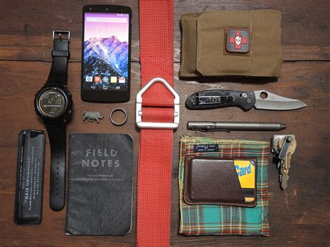 day carry everyday carry gear edc list considerations