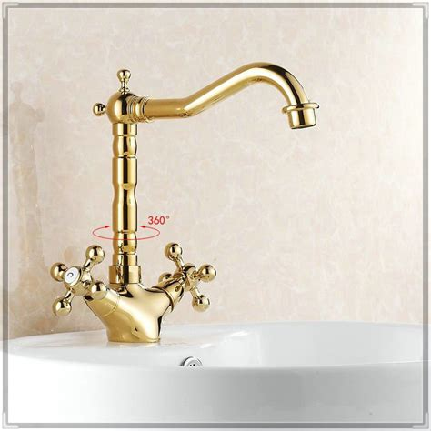 single basin double faucet bathroom sink bathroom faucet gold double clawfoot handle sink mixer tap