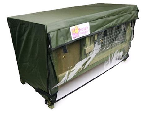 Rabbit Hutch Covers For The Winter Single Hutch Hugger Cover Online Hutch Covers At
