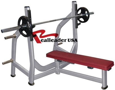the gallery for gt flat bench press machine