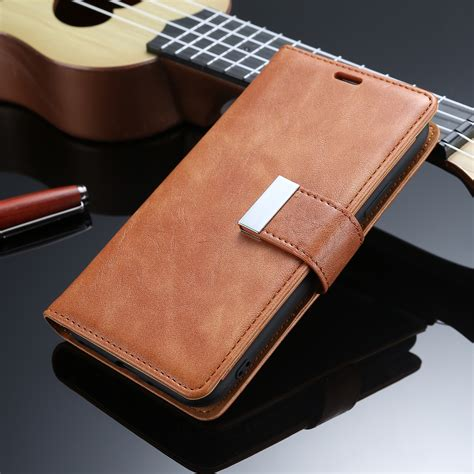 Iphone 8 Luxury Leather With Card Slot for iphone 8 plus luxury leather card slots magnetic flip stand cover ebay