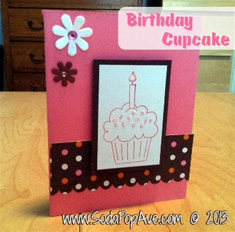 birthday cards how to make one dozen card ideas soda pop avenue