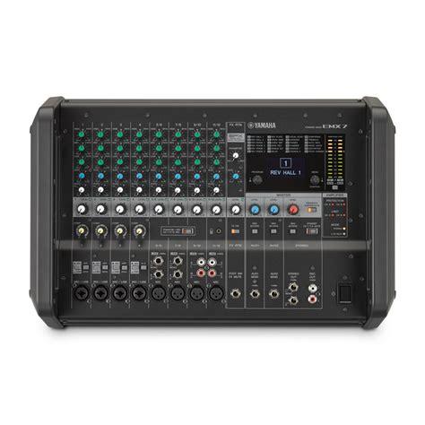 Mixer Karaoke Yamaha yamaha emx7 1 420w 12 input powered mixer