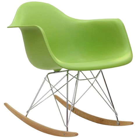 rocker armchair eames rocking chair rar rocker armchair retro modern