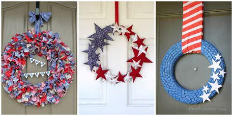 14 diy 4th of july wreaths easy ideas for fourth of july