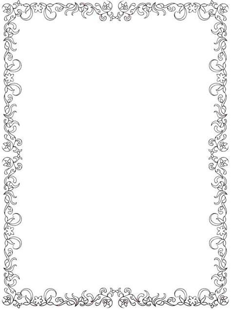 border designs coloring pages 1121 best frames bordes images on pinterest tags