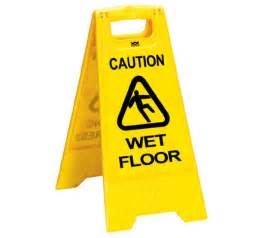 caution floor sign health and safety signs
