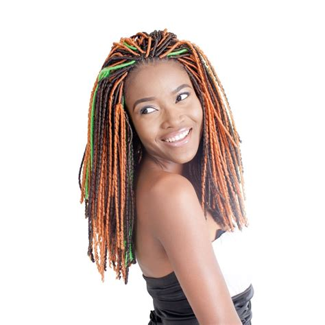 coloured faux locs attractive 4 colored faux locs for natural hair new