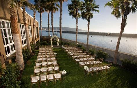 garden weddings los angeles area portofino hotel marina a noble house hotel redondo