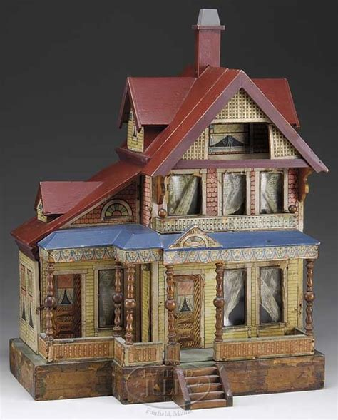 antique dolls house seaside vintage doll house doll houses etc pinterest