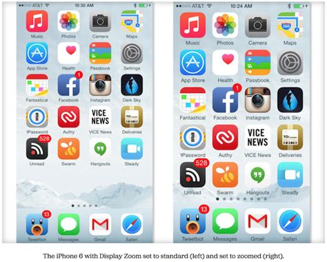button layout iphone 6 iphone 6 iphone 6 plus display zoom feature detailed