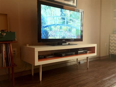 ikea tv cabinet hack ikea hackers mid century lack tv hack but side table