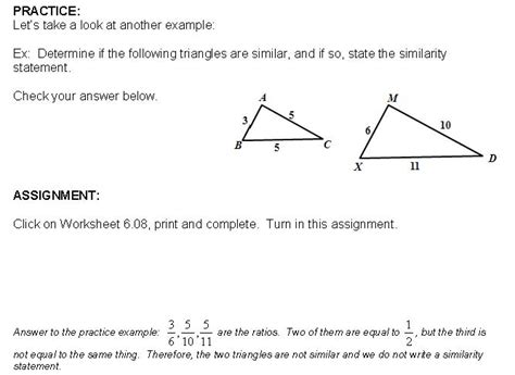 Proving Triangles Similar Worksheet by Proving Triangles Similar Worksheet Worksheets Tutsstar