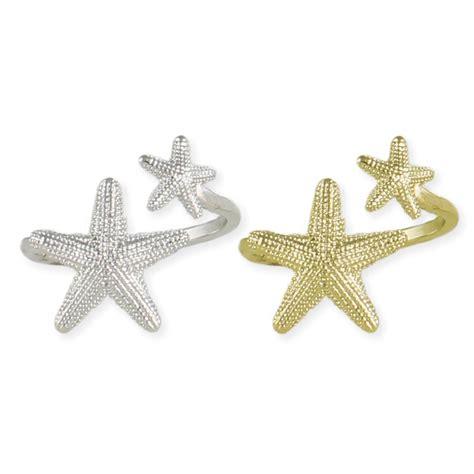 wholesale starfish ring zad fashion costume