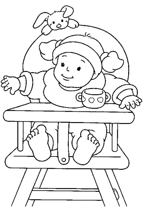 baby coloring books baby coloring pages coloring pages to print